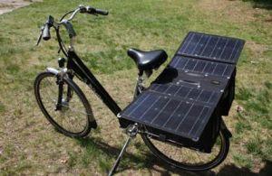 fietstassen met zonnepanelen